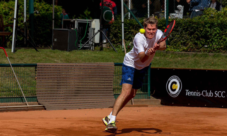 Thomas Enqvist spielt für TC SCC Berlin