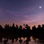 Venus over Angkor Wat