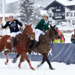 Thomas Winter & Eva Brühl @2016 Kitzbuehel Snow Polo Jan 16 Gruber vs GymEntry-19