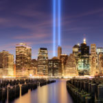 Sep 11 Tribute lights – NYC